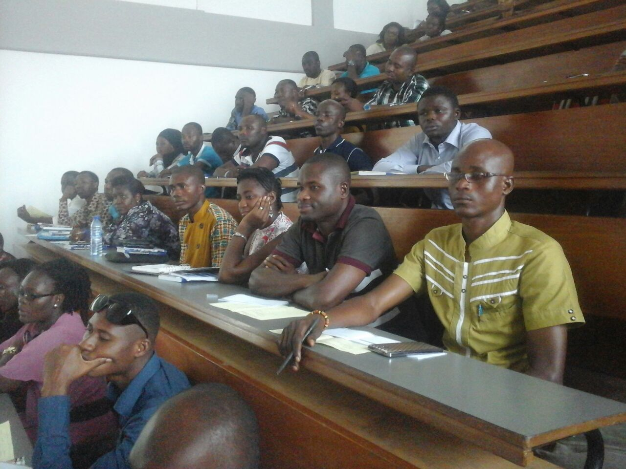 Orientation  of First year Graduate  students by GRASAG & School of Graduate Studies